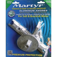 MARTYR ALUMINUM ANODE KIT FOR YAMAHA 60-90 Hp