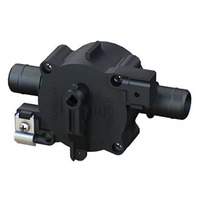 3-POSITION SELECT VALVE-3-Position Fill/Recirc/Empty, Rear Cable