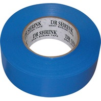"HEAT SHRINK TAPE-6"" x 180' Shrink Tape, Blue"