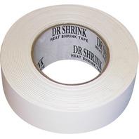 """HEAT SHRINK TAPE-6"""" x 180' Shrink Tape, White"""