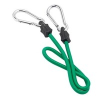 "CARABINER BUNGEE CORD-32""L, Green"