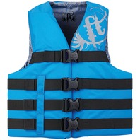 "FULL THROTTLE TEEN/ADULT NYLON WATER SPORTS VEST-X-Small (Teen) 28-32"", Blue"