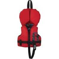 FULL THROTTLE INFANT NYLON WATER SPORTS VEST-Infant Up to 30 lbs, Red