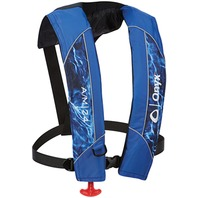 ONYX A/M-24 AUTO/MANUAL INFLATABLE LIFE JACKET-Auto/Manual Vest, Mossy Oak Elements