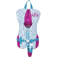 FULL THROTTLE INFANT RAPID DRY FLEX-BACK VEST-Infant Up to 30 lbs, Aqua