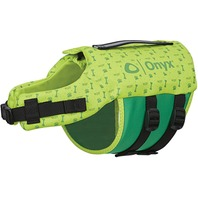 ONYX NEOPRENE PET VEST, Green Medium, 30-60 Lbs