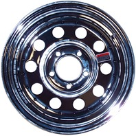 KENDA CHROME RIMS, MODULAR-14 x 6; 5 x 4.5 Bolt Circle; Modular Rim Only
