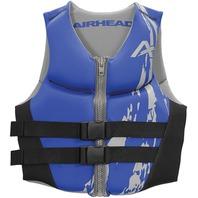 AIRHEAD SWOOSH NEOLITE SKI VEST, ADULT-3XL NeoLite Vest, Blue