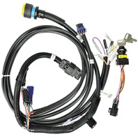 ENGINE TO HELM NON DTS 14 PIN HARNESS-Key Switch with Harness, 15'