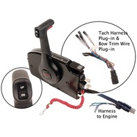 SIDE MOUNT REMOTE CONTROL - 8 PIN TRADITIONAL-Side Mount with Trim & 20' Harness