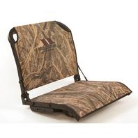 Millenium Marine ComfortMax Fold Down Boat Seat, Mossy Oak Shadow Grass Habitat
