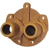 JABSCO PUMP REPLACEMENT PART-Water Pump End Cover, Bronze 43208-1000
