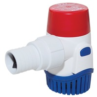 "RULE SUBMERSIBLE BILGE PUMP, 1100 GPH, 1"" & 1-1/8"" Hose Dia."