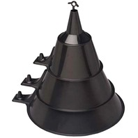 3-PIECE FUNNEL SET-Black Funnel Assortment