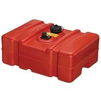"PORTABLE FUEL TANK, EPA/CARB COMPLIANT 12 Gallon, 24.5""L x 18.1""W x 11.5""H (Low Profile)"