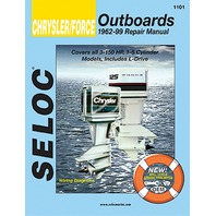 SIERRA SELOC MARINE ENGINE REPAIR MANUALS, CHRYSLER/FORCE-All Engines 1962-1999, 3-150 HP, 1-5 cylinder including L-Drive