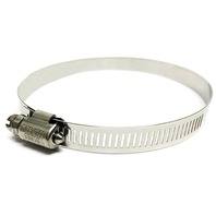 """SHIELDS STAINLESS STEEL HOSE CLAMP-Std No 104, 5"""" - 7"""""""