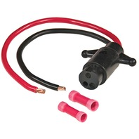 TROLLING MOTOR PLUG, 12VOLT 8 GA-Motor Side Connector 8 Ga Female