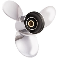 TITAN (E) Stainless 15.5 X 15 Propeller for 150-300HP Yamaha Outboards