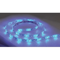 LED FLEX STRIP ROPE LIGHTS, NON-ADHESIVE-LED Rope Light, 24' Blue
