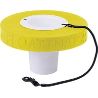FLOATINATOR Cup Bottle Drink Float, Yellow