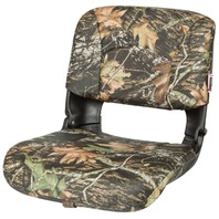 ALL WEATHER HIGH BACK BOAT SEAT WITH CUSHIONS, Mossy Oak Breakup