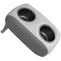 WISE STAINLESS PONTOON DOUBLE DRINK HOLDER-Sky Grey/Dove Grey