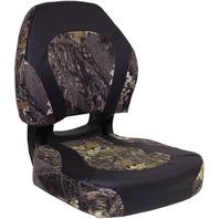 TORSA SCOUT VINYL ERGONOMIC FOLDING SEAT, CAMO-Mossy Oak Breakup/Nexus Black