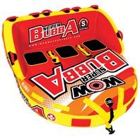 """SUPER BUBBA TWO-WAY TOWABLE-Super Bubba, 1-3 Rider, 75"""" x 73"""""""