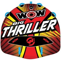 "BIG THRILLER DECK TUBE-Big Thriller Towable, 66"" x 62"", 1 or 2-Rider"