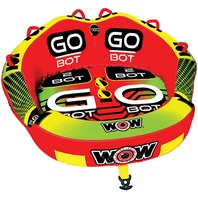 """GO BOT FRONT AND BACK 2 RIDER TOWABLE-Go Bot, 1-2 Rider, 68"""" x 66"""""""