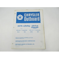 OB2273 Outboard Parts Catalog for Chrysler 105 HP Charger 1976 1055HA 1055HB