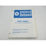 OB2280 Vintage Chrysler Outboard Service Manual 10 HP Sailor
