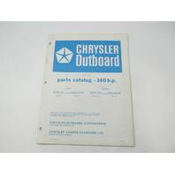 OB2701 Outboard Parts Catalog for Chrysler 140 HP 1978 1407HA 1407BA