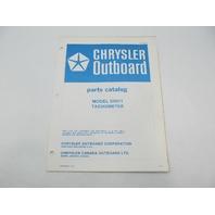 OB2855 Chrysler Outboard Parts Catalog for Tachometer 5H011