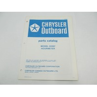 OB2859 Chrysler Outboard Parts Catalog for Hourmeter 5H007