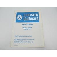 OB2882 Chrysler Outboard Parts Catalog for Ammeter 71H06A