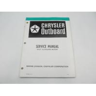 OB3331 5/79 Chrysler Outboard Service Manual 4 HP 1980