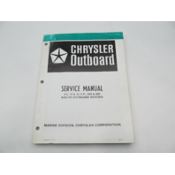 OB3391 8/79 Chrysler Outboard Service Manual 9.9-15 HP 250/280 Sailor