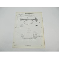 OB393 West Bend Installation Instructions for Remote Electric Cable Kit 513 514