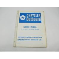 OB976 Chrysler Outboard Service Manual 3.5 & 3.6 HP 1966-1971