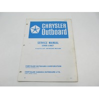OB977 1966-67 Chrysler Outboard Service Manual 6 & 9.2 HP