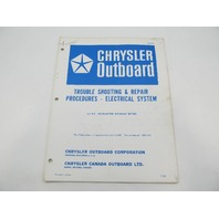 OB977S 7/68 Chrysler Outboard Service Manual Supplement 9.2 HP Autolectric