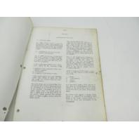 OB981 Vintage Chrysler Outboard Service Manual 75 & 105 HP 1966-67