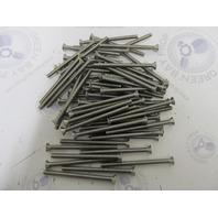 "Lot of 65 5/16-18 x 4-1/2"" Phillips Head Flat Stainless Steel Machine Screws PFMSSS5/16C4.5"