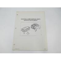 SIS-877 Mercruiser Electric & Mechanical Shift Service Manual Supplement