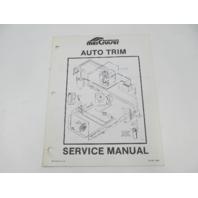 SIS-891 1084 Mercruiser Auto Trim System Service Repair Manual