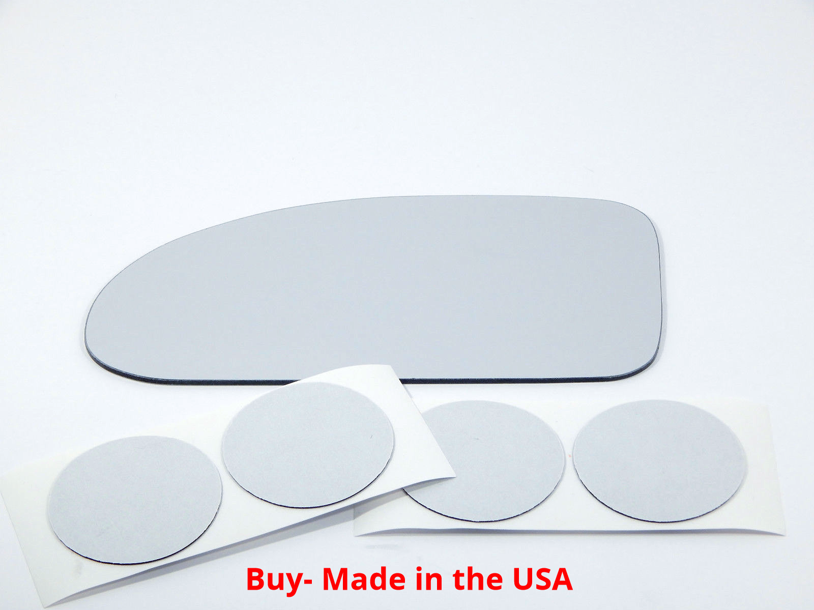Fits 02-07  Focus Left Driver Mirror (Glass Lens) w/Adhesive USA