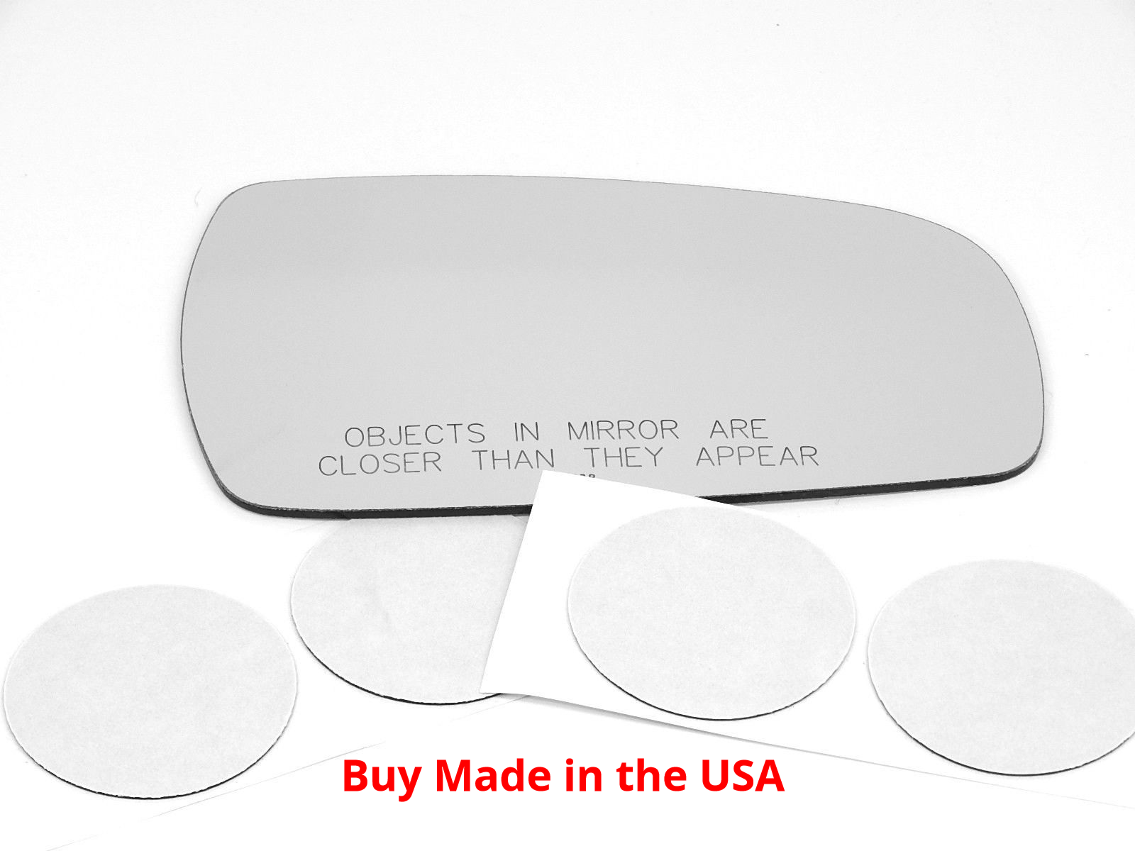 Right Pass Convex Mirror Glass Lens w/Adhesive Fits 95-99 Maxima 96-99 Inf. i30
