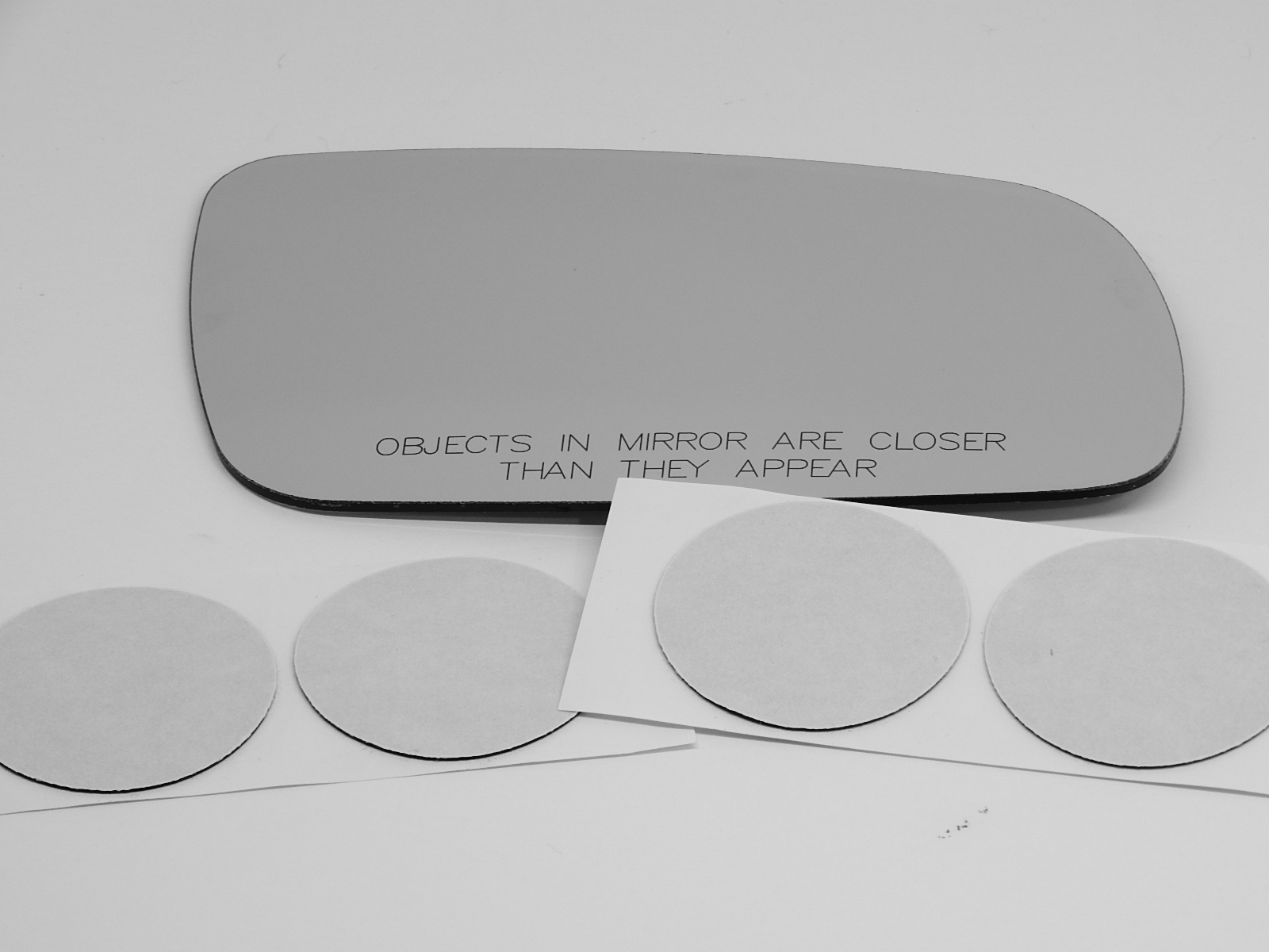 Fits 04 VW Passat Right Pass Mirror Glass Lens Mid Year Split more than 1 option